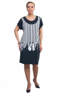 """Платье """"Олси"""" 1605036/2 ОЛСИ (Черный)"""
