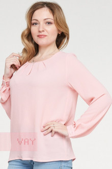 Блузка женская 182-3443 Фемина (Ярко-розовый)