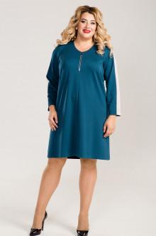 Платье 767 Luxury Plus (Бирюзовый)