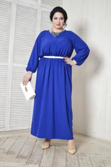 Платье 054801 ЛаТэ (Васильковый)