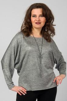 """Блуза """"СКС"""" 4733/1 (Серый/серебро)"""