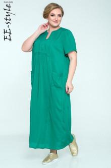 """Платье """"Её-стиль"""" 2033 ЕЁ-стиль (Зелёный)"""